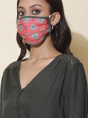 Printed Reusable Masks (Set Of 2)