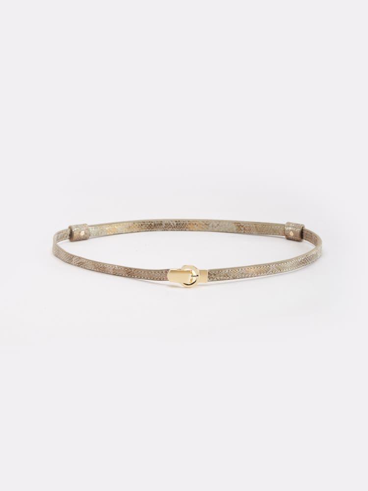 Golden Adjustable Belt