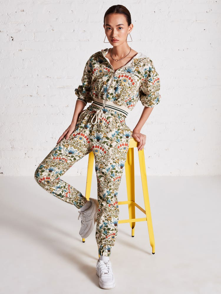 Shanaya Kapoor in Multi Colored Floral Print Co-ord Set