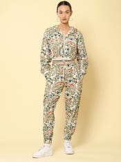 Multi Colored Floral Print Co-ord Set