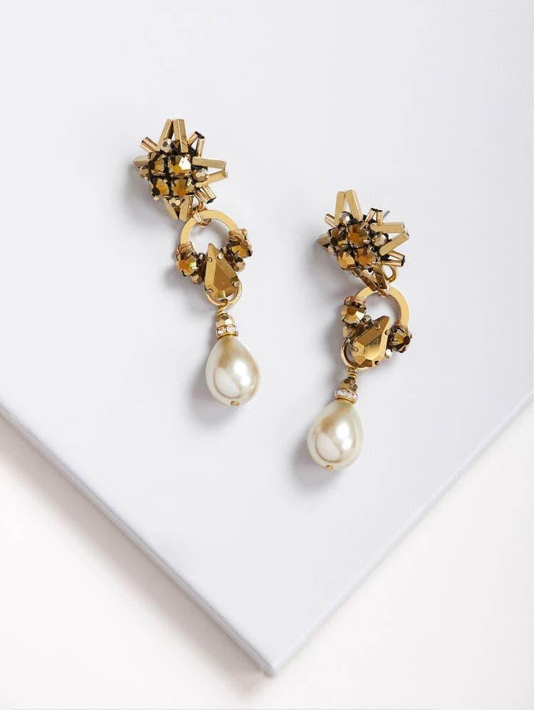 Gold Star-light Earrings