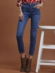 Medium Blue Skinny Jeans