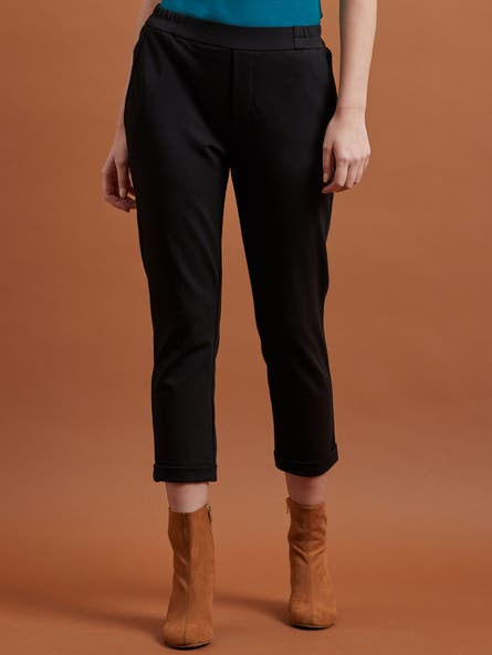 Black Everyday Trousers