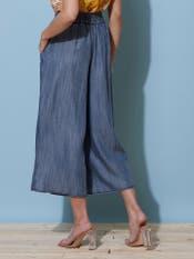 Wide-Legged Tencil Culottes