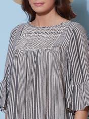 Monochromatic Striped Top