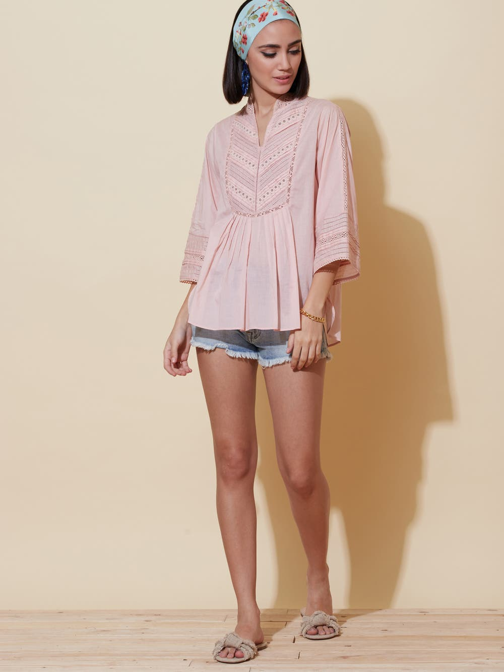 Pink Cotton Top