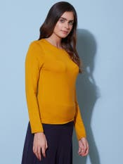 Mustard Basic T-Shirt
