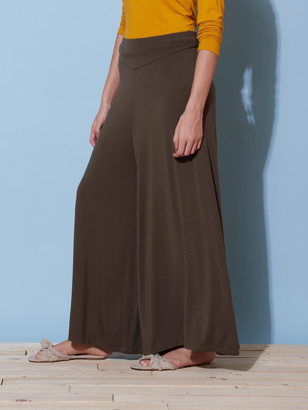 Olive Green Basic Yoga Pants
