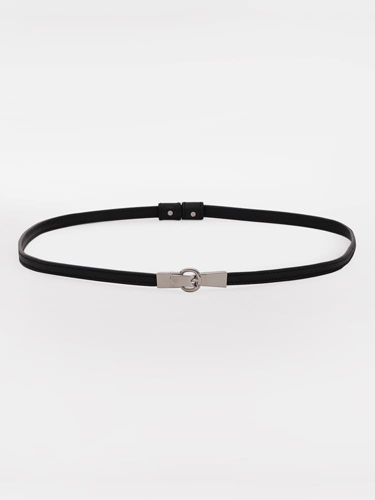 Black Adjustable Belt