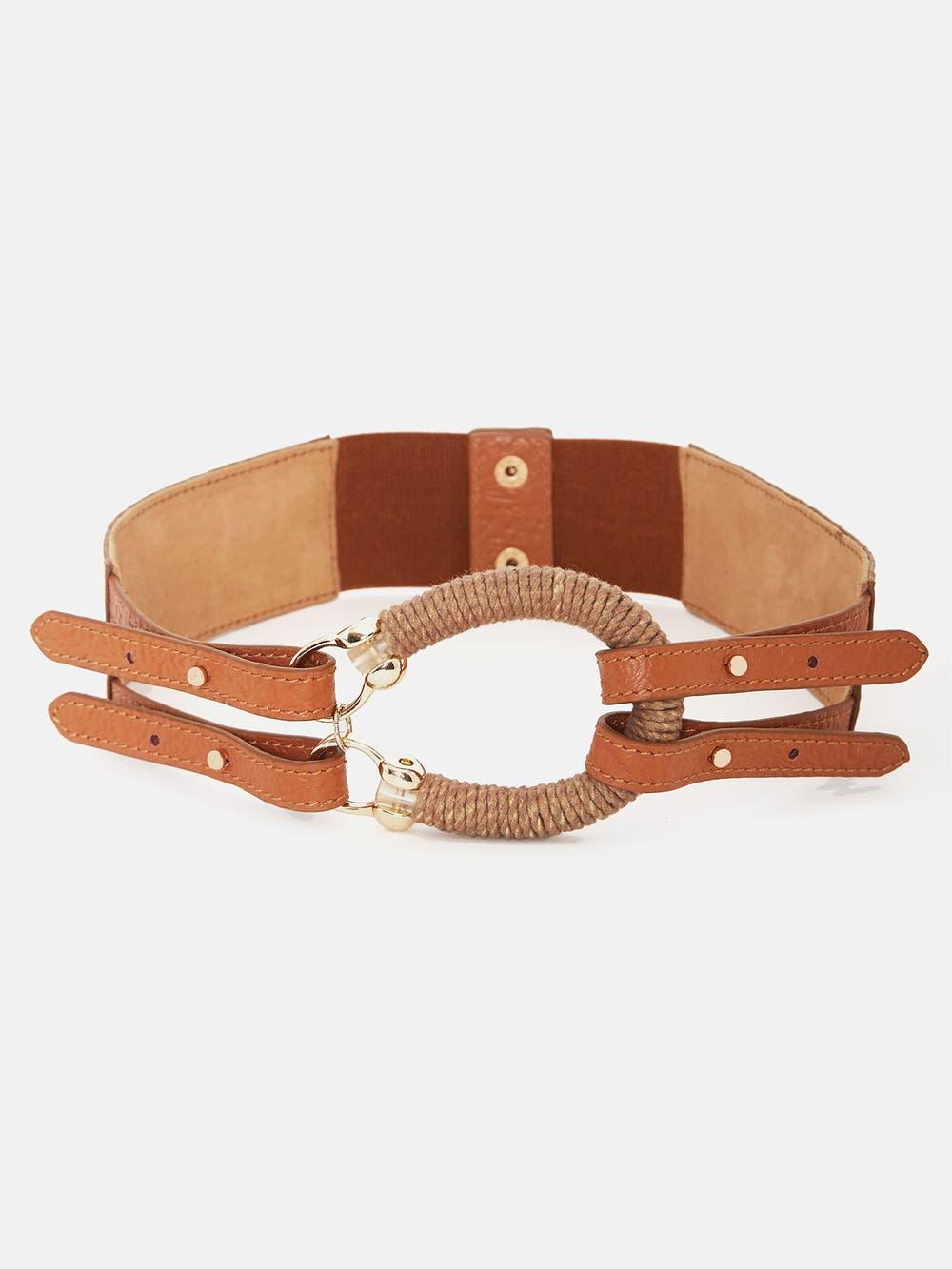 Tan Equestrian Belt