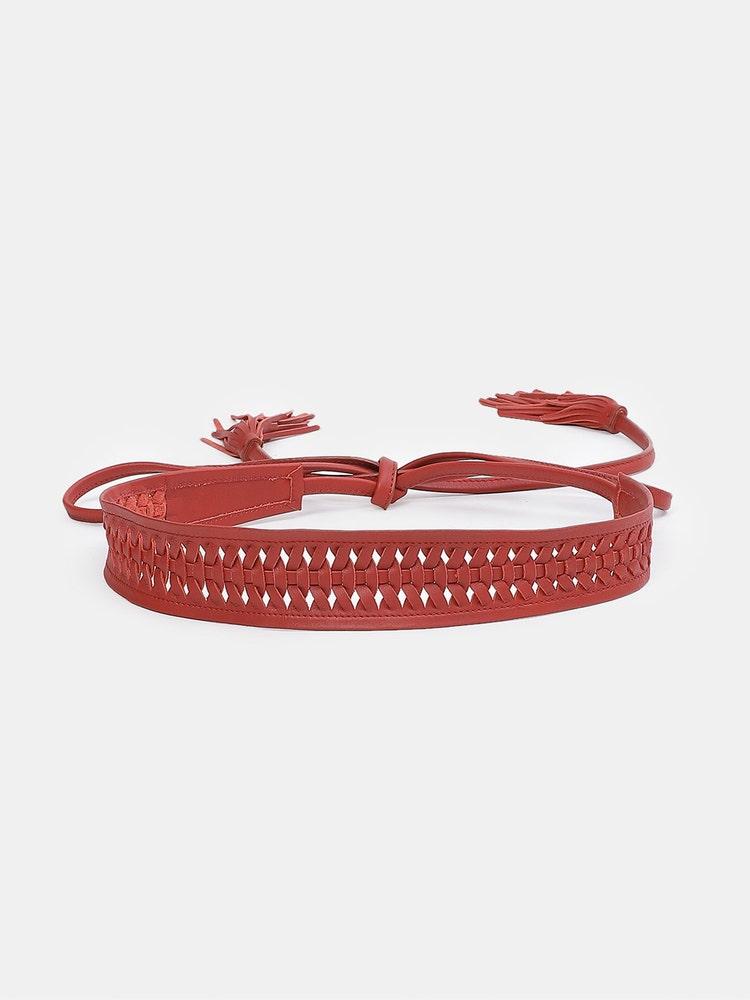 Red Tie-up Belt