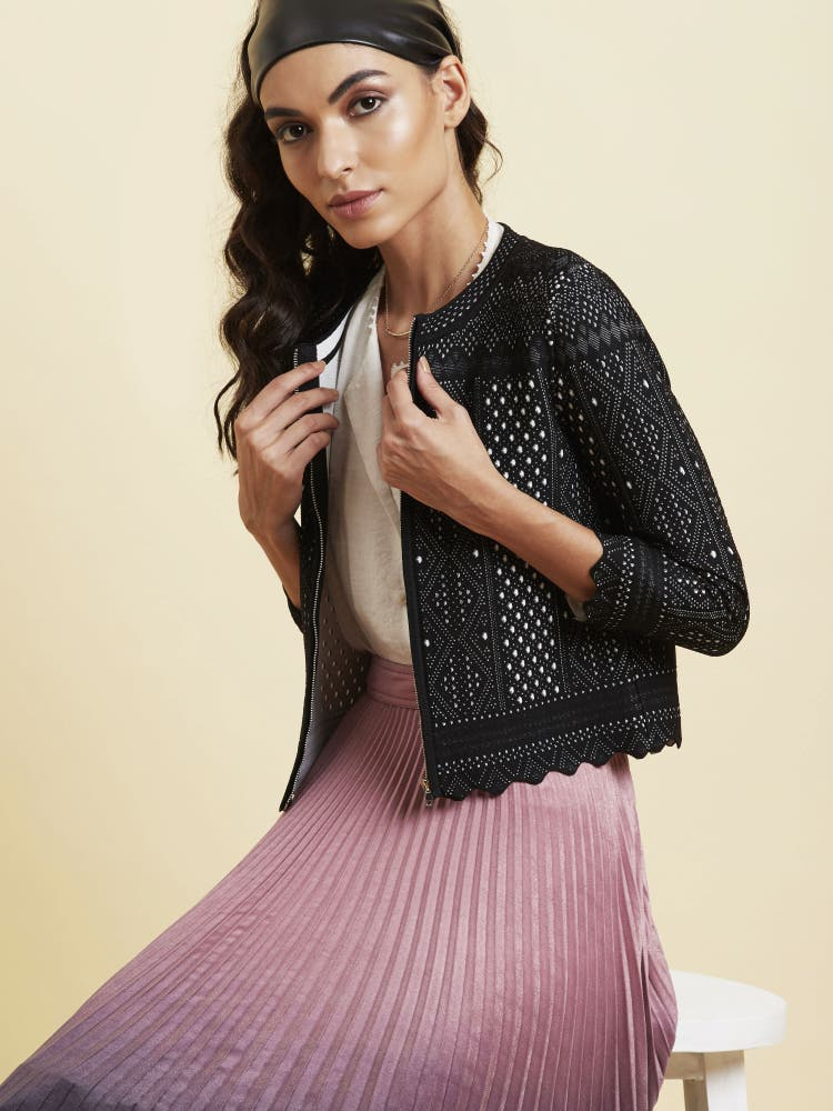 Black Lace Jacket