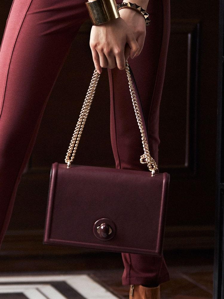 Cherry Red Shoulder Bag
