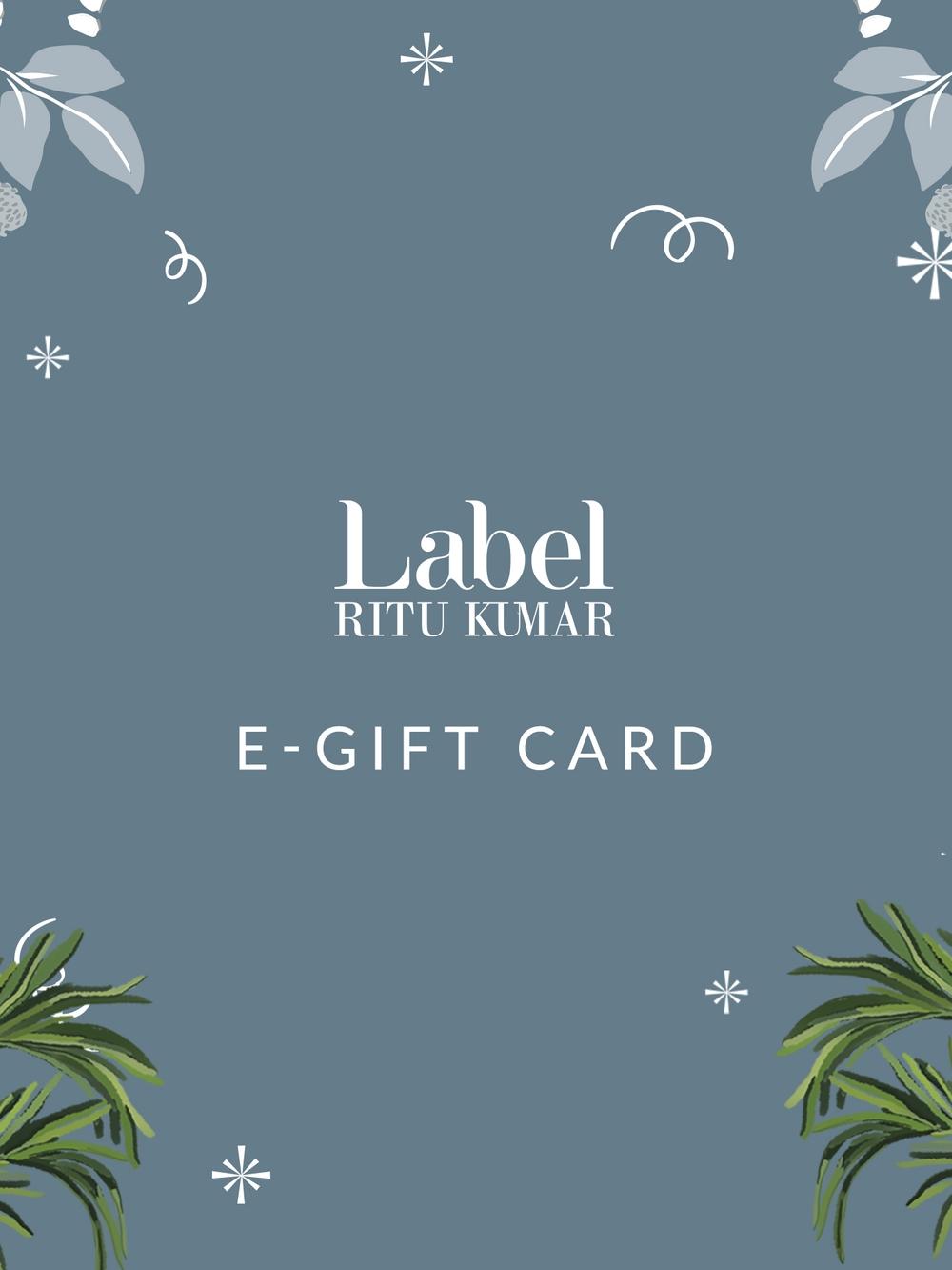 Label Ritu Kumar eGift Card