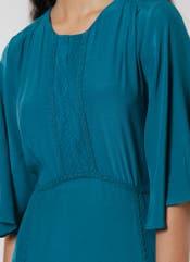 Teal Green Midi Dress