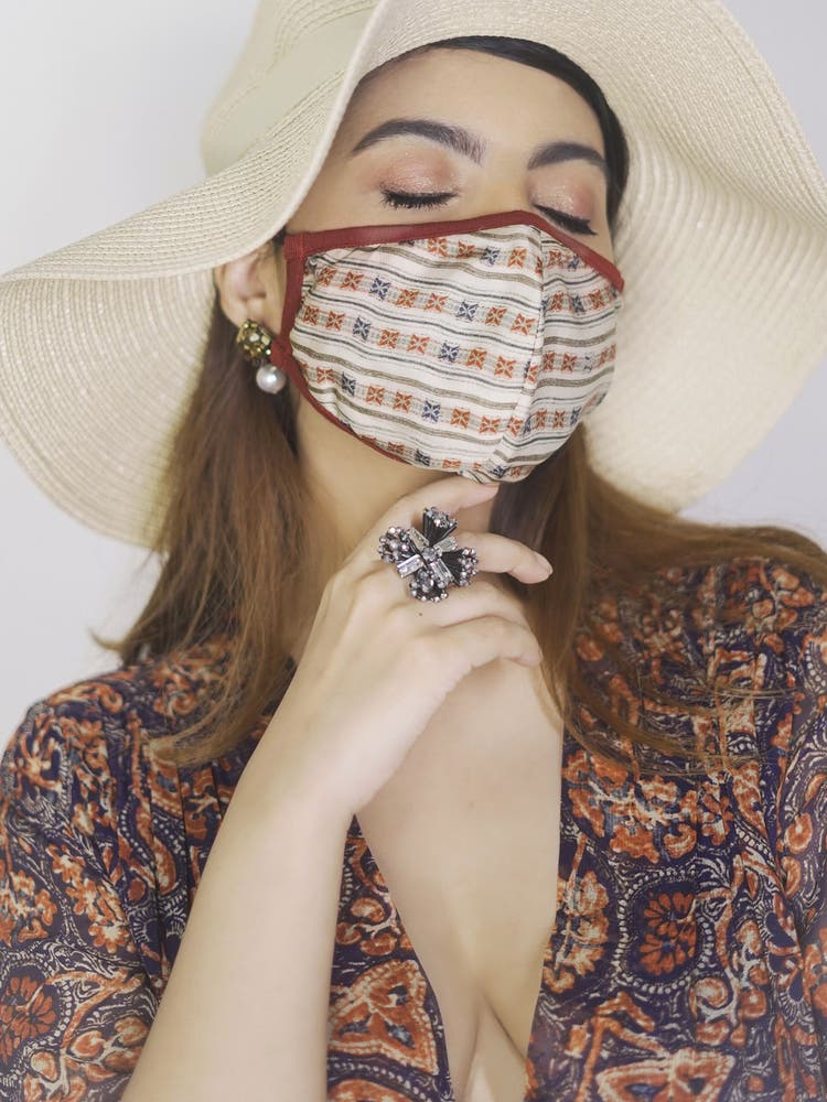 Printed Reusable Masks (Set of 3)