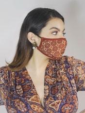 Printed Reusable Masks (Set of 3)
