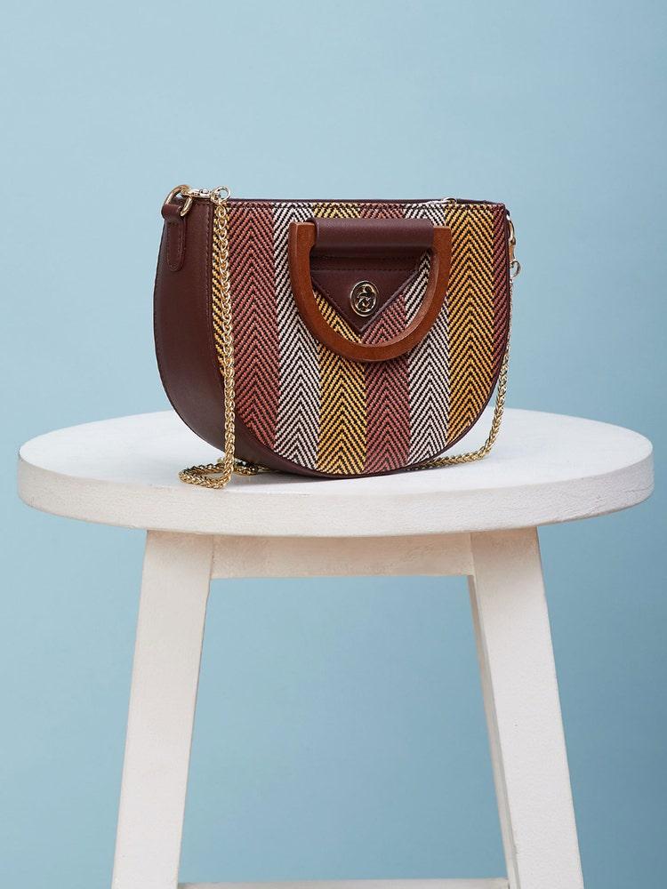 Chocolate Brown Sling Bag