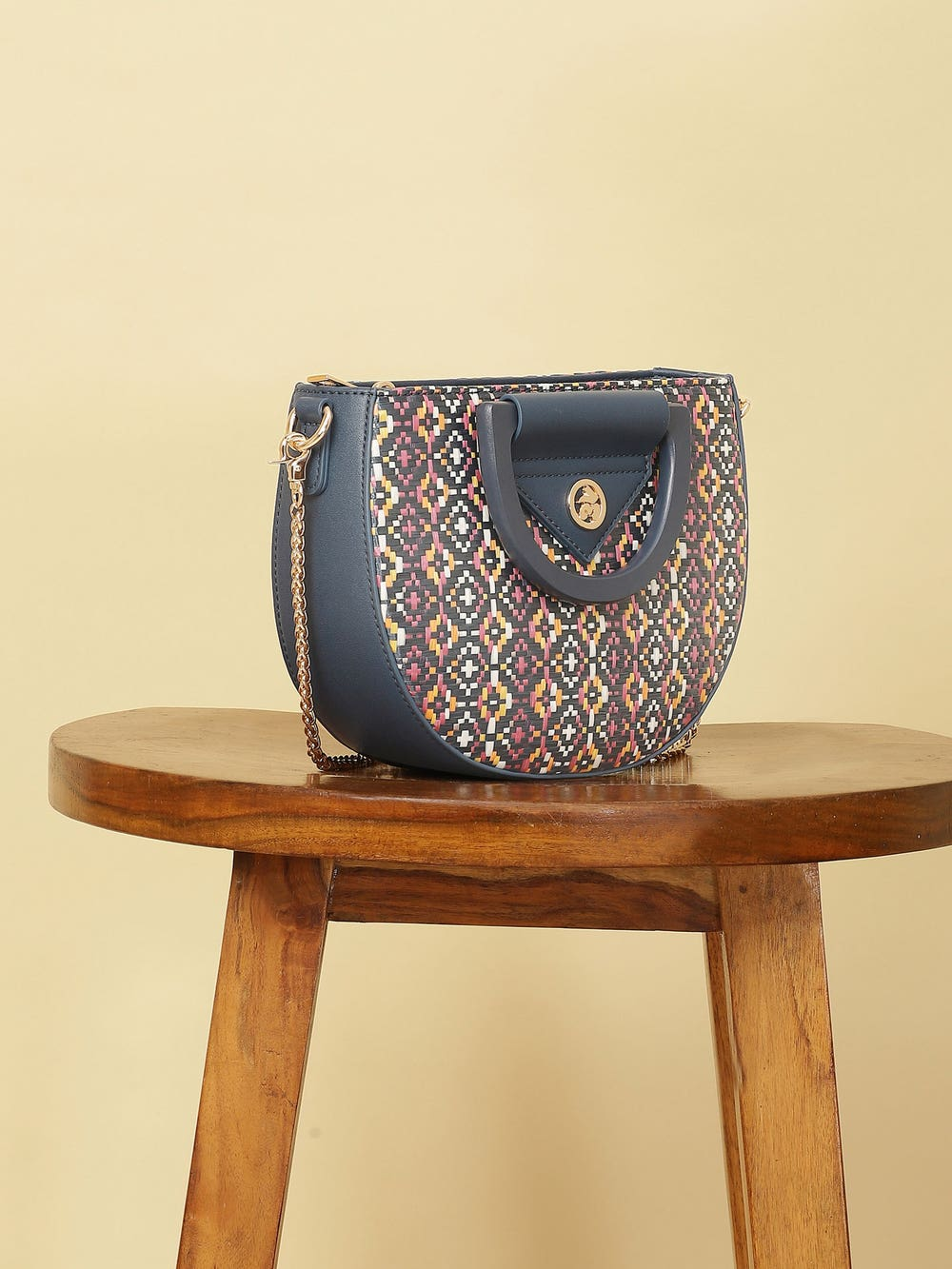 Navy Blue Sling Bag