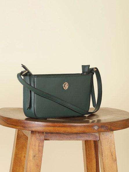Green Baguette Bag