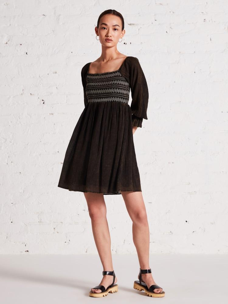 Olive Green Off Shoulder Short Dress