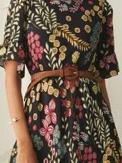 Tan Brown Leather Belt