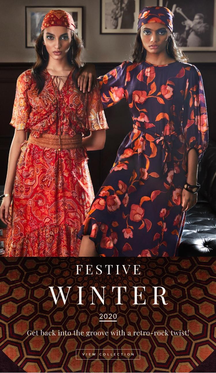 Women S Designer Western Ready To Wear Clothings Accessories Label Ritu Kumar Official Site